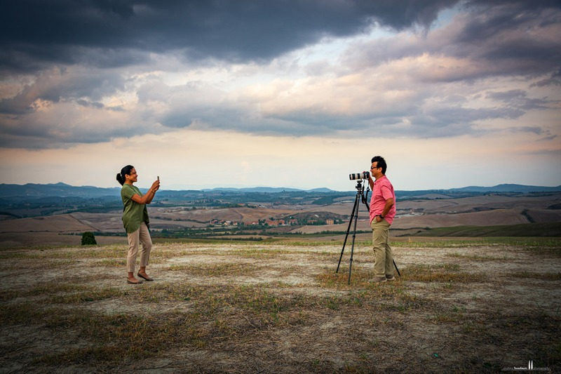 a tuscany photo tour with andrea bonfanti photographer